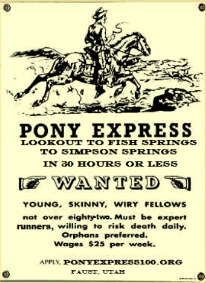 Pony Express Trail 50 And 100